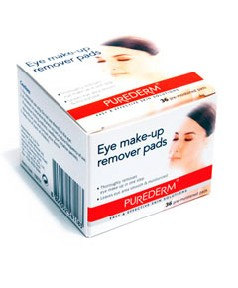 Purederm Eye Make Up Remover Pads