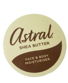 Astral Shea Butter Face And Body Moisturiser