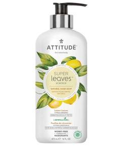 Super Leaves Science Natural Lemon Leaves Hand Soap