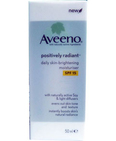 Aveeno Positively Radiant Daily Skin Brightening Moisturiser