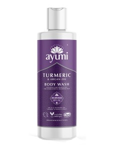 Ayumi Naturals Turmeric And Argan Oil Body Wash