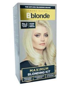 Maximum Blonding Kit No 2 Blonde To Medium Brown Hair