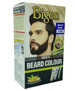 Mens Beard Colour Natural Brown B104