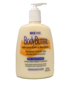 Body Butter With Cocoa And Shea Butter Anti Aging Pump Lotion