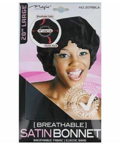 Magic Collection Breathable Satin Bonnet 2078BLA