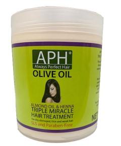 Organic Olive Oil Triple Miracle Hair Treatment
