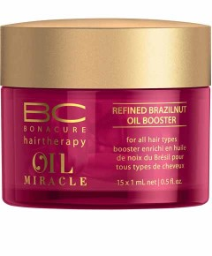 Bonacure Hairtherapy Oil Miracle Brazilnut Oil Refined Oil Booster