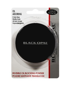 Black Opal Oil Absorbing Invisible Oil Blocking Pressed Powder