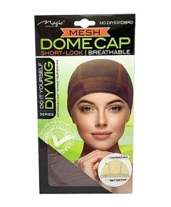 Magic Collection Breathable Mesh Dome Cap DIY001DBRO