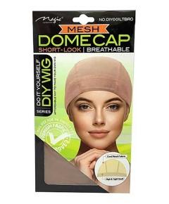 Magic Collection Breathable Mesh Dome Cap DIY001LBRO