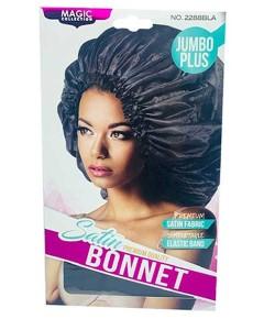 Magic Collection Satin Premium Quality Bonnet 2288BLA