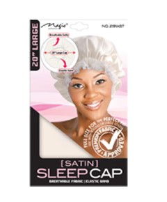 Magic Collection Satin Sleep Cap 2191AST
