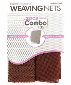 Magic Collection Deluxe Invisible Weaving Nets 22402BRO