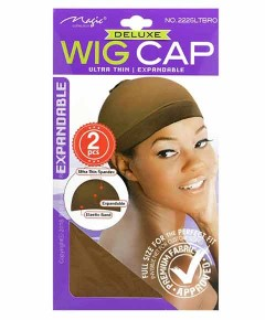 Magic Collection Deluxe Expandable Wig Cap 2225LTBRO