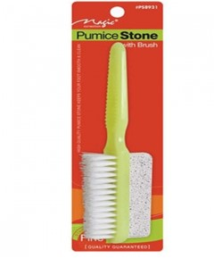 Magic Collection Pumice Stone With Brush