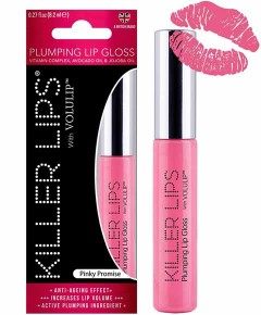 Killer Lips With Volulip Pinky Promise Plumping Lip Gloss