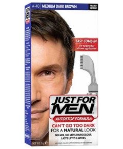 Just For Men Full Grey Coverage Medium Dark Brown Hair Color