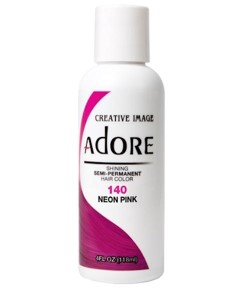 Adore Shining Semi Permanent Hair Color Neon Pink