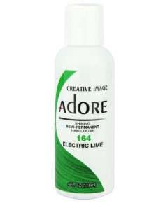 Adore Shining Semi Permanent Hair Color Electric Lime