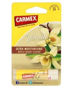 Carmex Moisturising Lip Balm Stick Vanilla