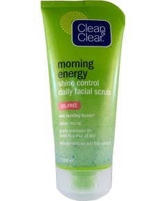 Clean And Clear Morning Energy Shine Control Daily Facial Scrub