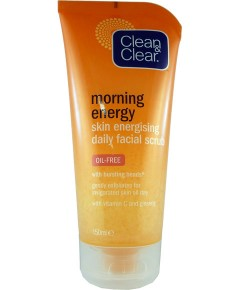 Clean And Clear Morning Energy Skin Energising Daily Facial Scrub