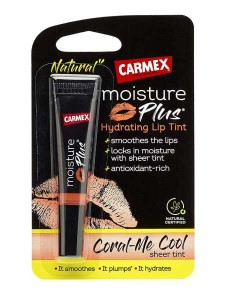 Carmex Moisture Plus Hydrating Lip Tint Coral Me Cool