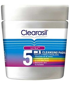5 In 1 Multi Action Cleansing Pads