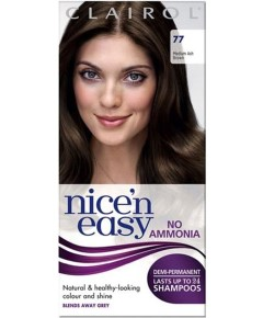 Nice N Easy Demi Permanent Color 77 Medium Ash Brown