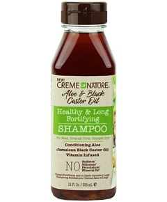 Aloe And Black Castor Oil Healthy And Long Fortifying Shampoo