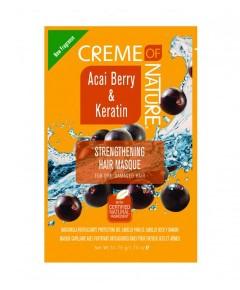 Acai Berry And Keratin Strengthening Hair Masque Sachet