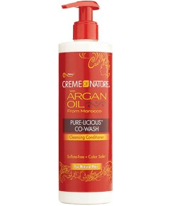 Argan Oil Pure Licious Co Wash Cleansing Conditioner