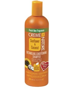 Sunflower And Coconut Detangling Conditioning Shampoo