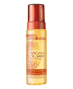 Argan Oil Style And Shine Foaming Mousse