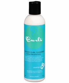 Creamy Curl Cleanser Sulfate Free Shampoo