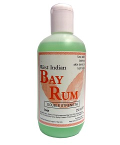 West Indian Double Strength Bay Rum