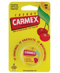 Carmex Moisturising Cherry Lip Balm Pot
