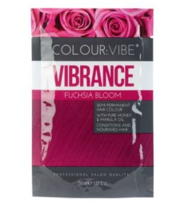 Vibrance Semi Permanent Hair Colour Fuchsia Bloom