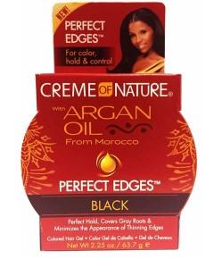 Argan Oil Perfect Edges Black Gel