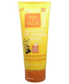 Creme of Nature Jojoba Oil and Olive Oil Moisture Active Deep Conditioning Treatment