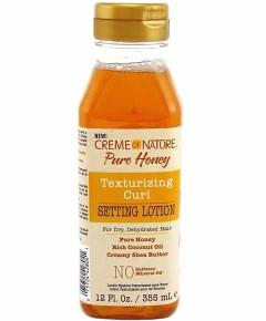 Pure Honey Texturizing Curl Setting Lotion