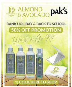 Design Essentials Natural Almond And Avocado Wash N Go Bundle 1
