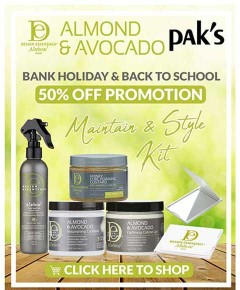 Design Essentials Natural Almond And Avocado Maintain N Style Bundle 3