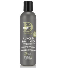 Natural Almond And Avocado Moisturizing And Detangling Conditioner