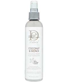 Natural Coconut And Monoi Coconut Water Curl Refreher
