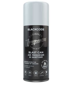 Blast Can Air Freshener And Sanitiser Blackcode