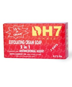 DH7 2 In 1 Exfoliating Cream Soap With Carrot Oil