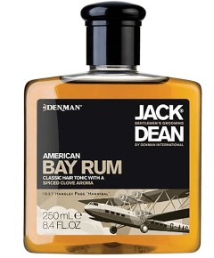 Jack Dean American Bay Rum Classic Hair Tonic