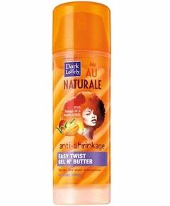 Dark And Lovely Naturale Anti Shrinkage Easy Twist Gel And Butter