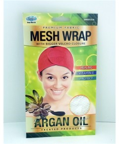 Argan Oil Treated Mesh Wrap DRE5121